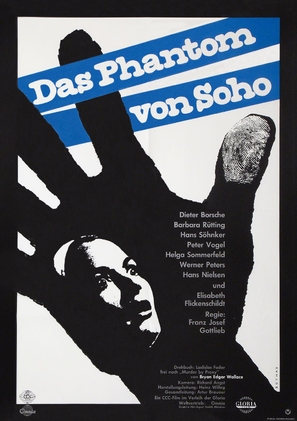 Das Phantom von Soho - German Movie Poster (thumbnail)