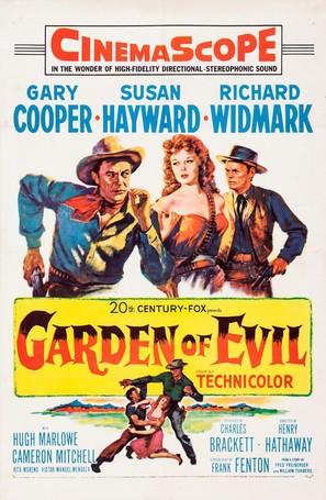 Garden of Evil - Movie Poster (thumbnail)