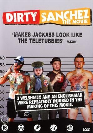 Dirty Sanchez: The Movie - Dutch DVD cover (thumbnail)