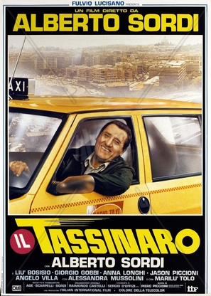 Il tassinaro - Italian Movie Poster (thumbnail)