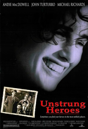 Unstrung Heroes - Theatrical movie poster (thumbnail)