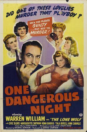 One Dangerous Night - Movie Poster (thumbnail)