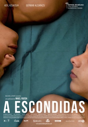 A escondidas - Spanish Movie Poster (thumbnail)