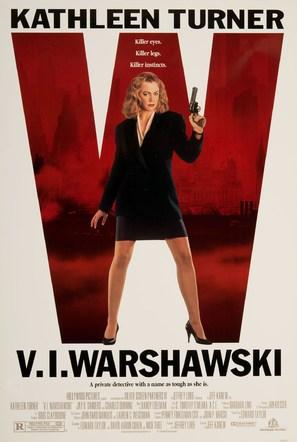 V.I. Warshawski - Movie Poster (thumbnail)