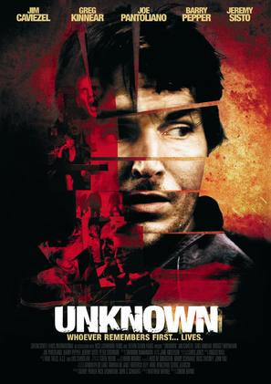 Unknown - Movie Poster (thumbnail)