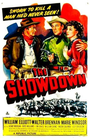 The Showdown - Movie Poster (thumbnail)