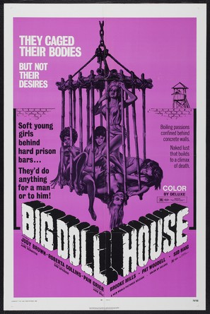 The Big Doll House - Movie Poster (thumbnail)