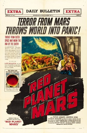 Red Planet Mars - Movie Poster (thumbnail)