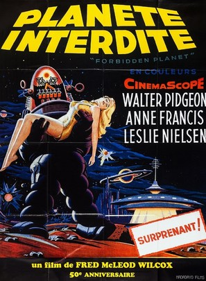 Forbidden Planet - French Re-release movie poster (thumbnail)