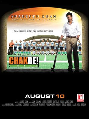 Chak De India - Indian Movie Poster (thumbnail)