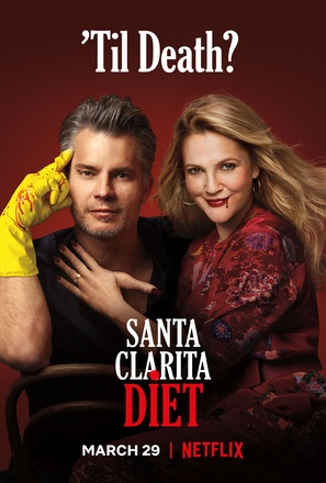"""Santa Clarita Diet"" - Movie Poster (thumbnail)"