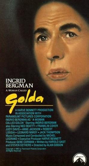 A Woman Called Golda - VHS movie cover (thumbnail)