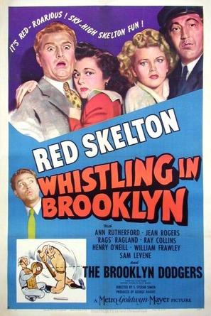 Whistling in Brooklyn - Movie Poster (thumbnail)