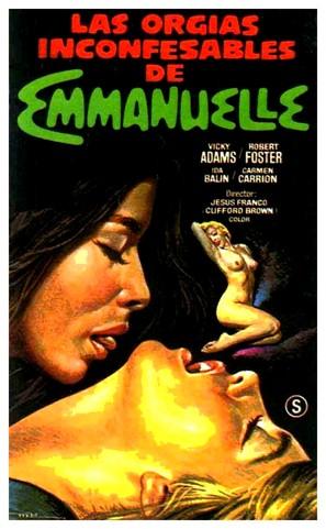 Las orgías inconfesables de Emmanuelle - Spanish VHS cover (thumbnail)
