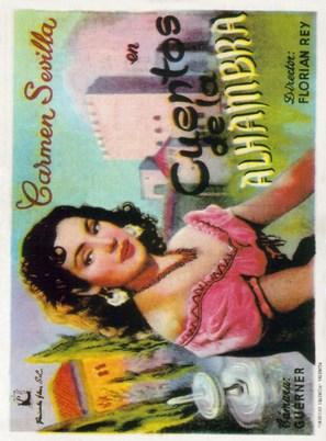 Cuentos de la Alhambra - Spanish Movie Poster (thumbnail)