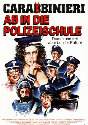 I carabbinieri - German Movie Poster (thumbnail)