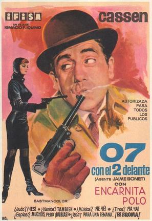 07 con el 2 delante - Spanish Movie Poster (thumbnail)