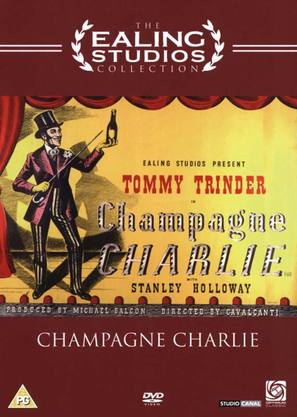 Champagne Charlie - British DVD movie cover (thumbnail)