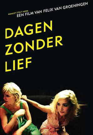 Dagen zonder lief - Belgian poster (thumbnail)