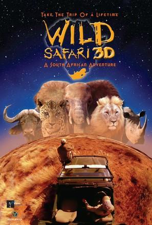 Wild Safari 3D - Movie Poster (thumbnail)