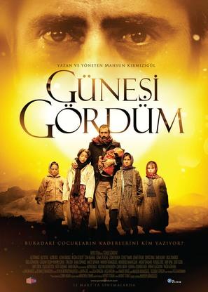 Günesi gördüm - Turkish Movie Poster (thumbnail)