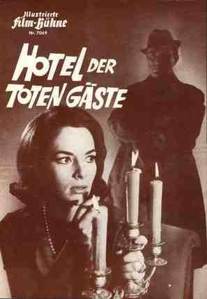 Hotel der toten Gäste - German poster (thumbnail)