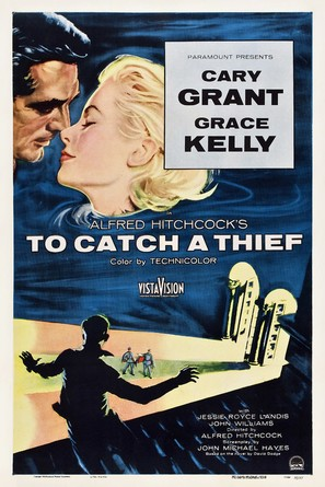 To Catch a Thief - Theatrical movie poster (thumbnail)