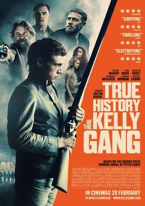 True History of the Kelly Gang - British Movie Poster (thumbnail)