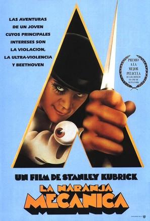 A Clockwork Orange - Spanish Movie Poster (thumbnail)