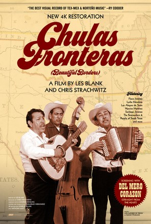 Chulas Fronteras - Re-release movie poster (thumbnail)