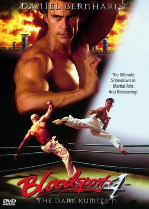Bloodsport: The Dark Kumite - DVD cover (thumbnail)