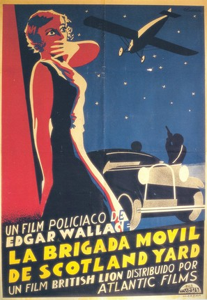 The Flying Squad - Spanish Movie Poster (thumbnail)