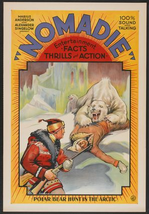 Nomadie - Theatrical poster (thumbnail)