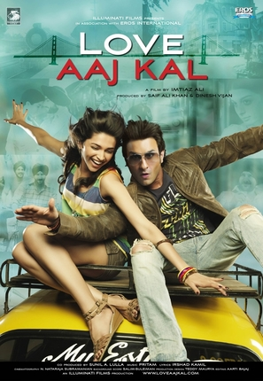 Love Aaj Kal - Indian Movie Poster (thumbnail)