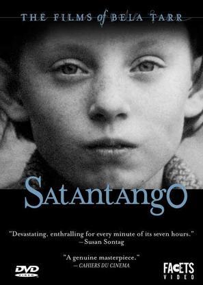 Sátántangó - DVD cover (thumbnail)