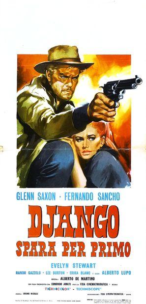 Django spara per primo - Italian Movie Poster (thumbnail)