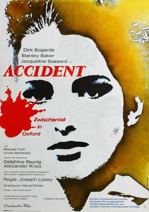 Accident - German Movie Poster (thumbnail)