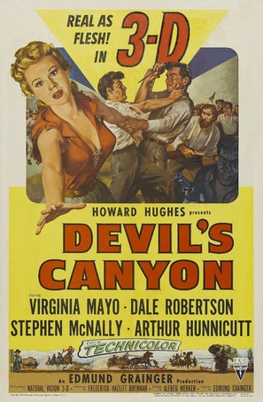Devil's Canyon - Movie Poster (thumbnail)