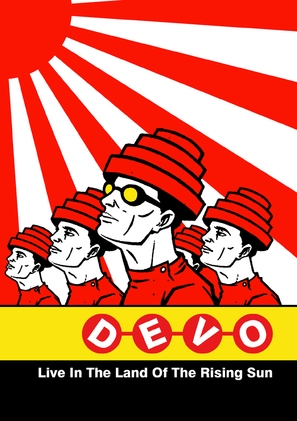 Devo: Live in the Land of the Rising Sun - DVD cover (thumbnail)