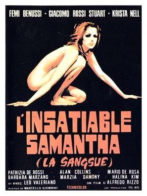 La sanguisuga conduce la danza - French Movie Poster (thumbnail)