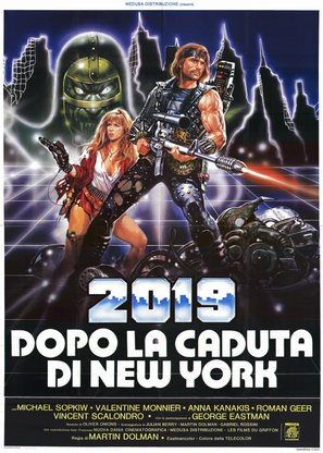 2019 - Dopo la caduta di New York - Italian Movie Poster (thumbnail)