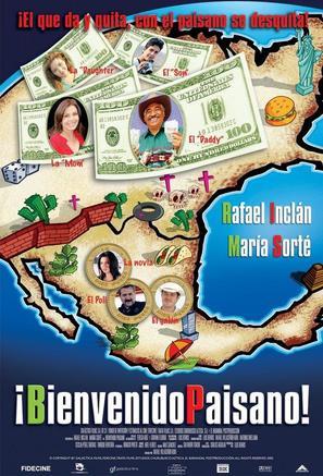 Bienvenido paisano - Mexican Movie Poster (thumbnail)