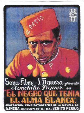 Negro que tenía el alma blanca, El - Spanish Movie Poster (thumbnail)