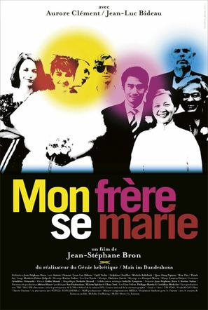 Mon frère se marie - French Movie Poster (thumbnail)