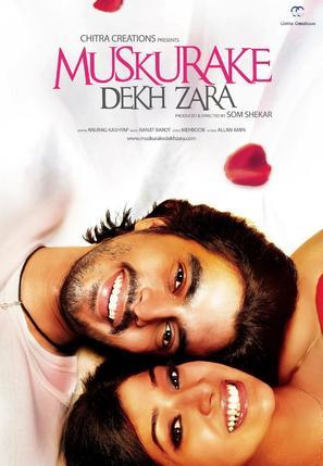 Muskurake Dekh Zara - Indian Movie Poster (thumbnail)