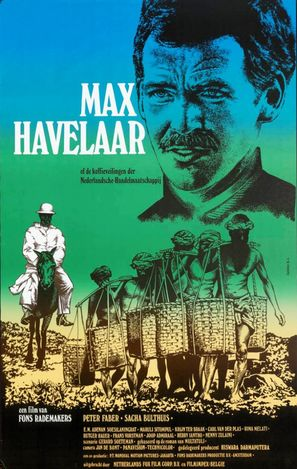 Max Havelaar of de koffieveilingen der Nederlandsche handelsmaatschappij - Dutch Theatrical poster (thumbnail)