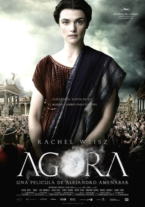Agora - Spanish Theatrical poster (thumbnail)