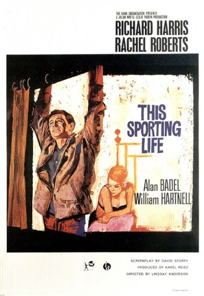 This Sporting Life - British Movie Poster (thumbnail)