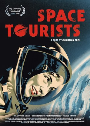 Space Tourists - Swiss Movie Poster (thumbnail)