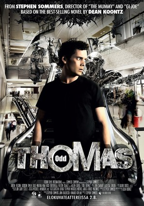 Odd Thomas - Finnish Movie Poster (thumbnail)